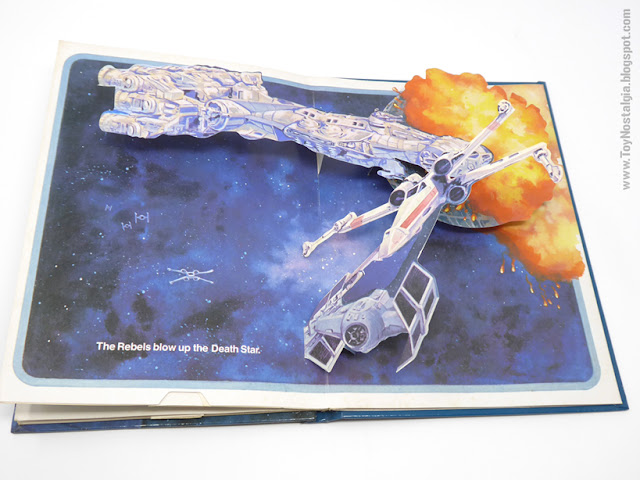 The Return Of the JEDI - A Pop Up book  1983 - Random House Ib Penick