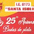 "COMAS: BODAS DE PLATA DE LA  I.E 8173 ""SANTA ISOLINA"""