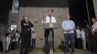 Bogotá recibe con honores de jefe de Estado a Juan Guaidó