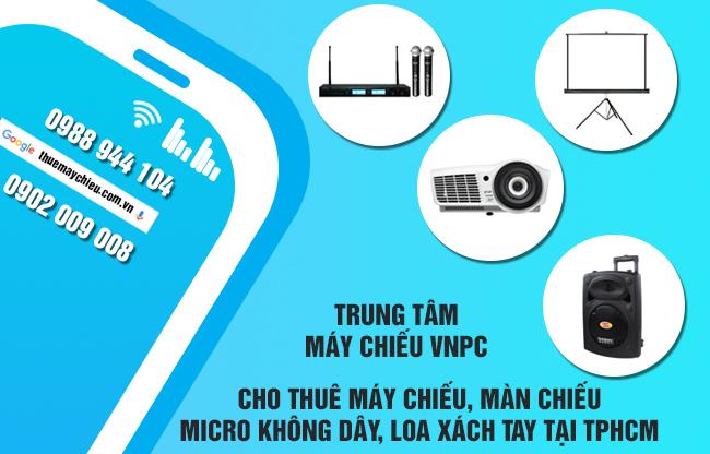 Đặt thuê máy chiếu online tại TpHCM