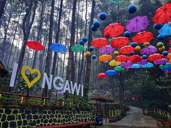 Instagramable Srambang Park in Ngawi