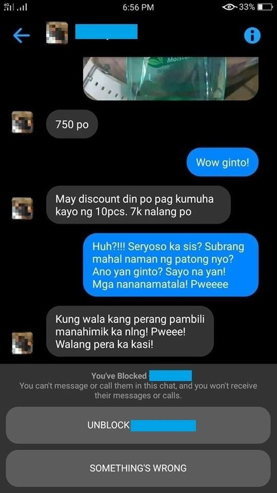 Woman angers netizens after selling 500-ml alcohol for Php750!