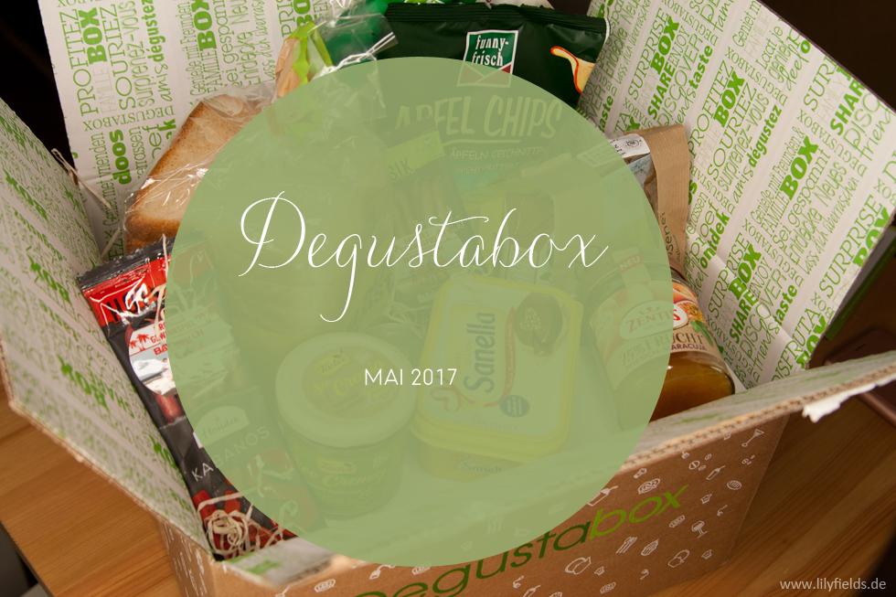 Degustabox - Mai 2017