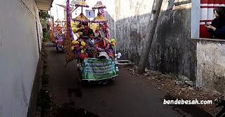 Al Hidayah Tenggarang Peringati Tahun Baru Islam dengan Pawai Becak dan Sepeda Hias