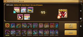 Tim Dragon B10 Terbaik Summoners War