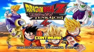 DRAGON BALL TENKAICHI TAG TEAM MOD COM MENU PERMANENTE [PARA ANDROID E PC PPSSPP]+DOWNLOAD/DESCARGA