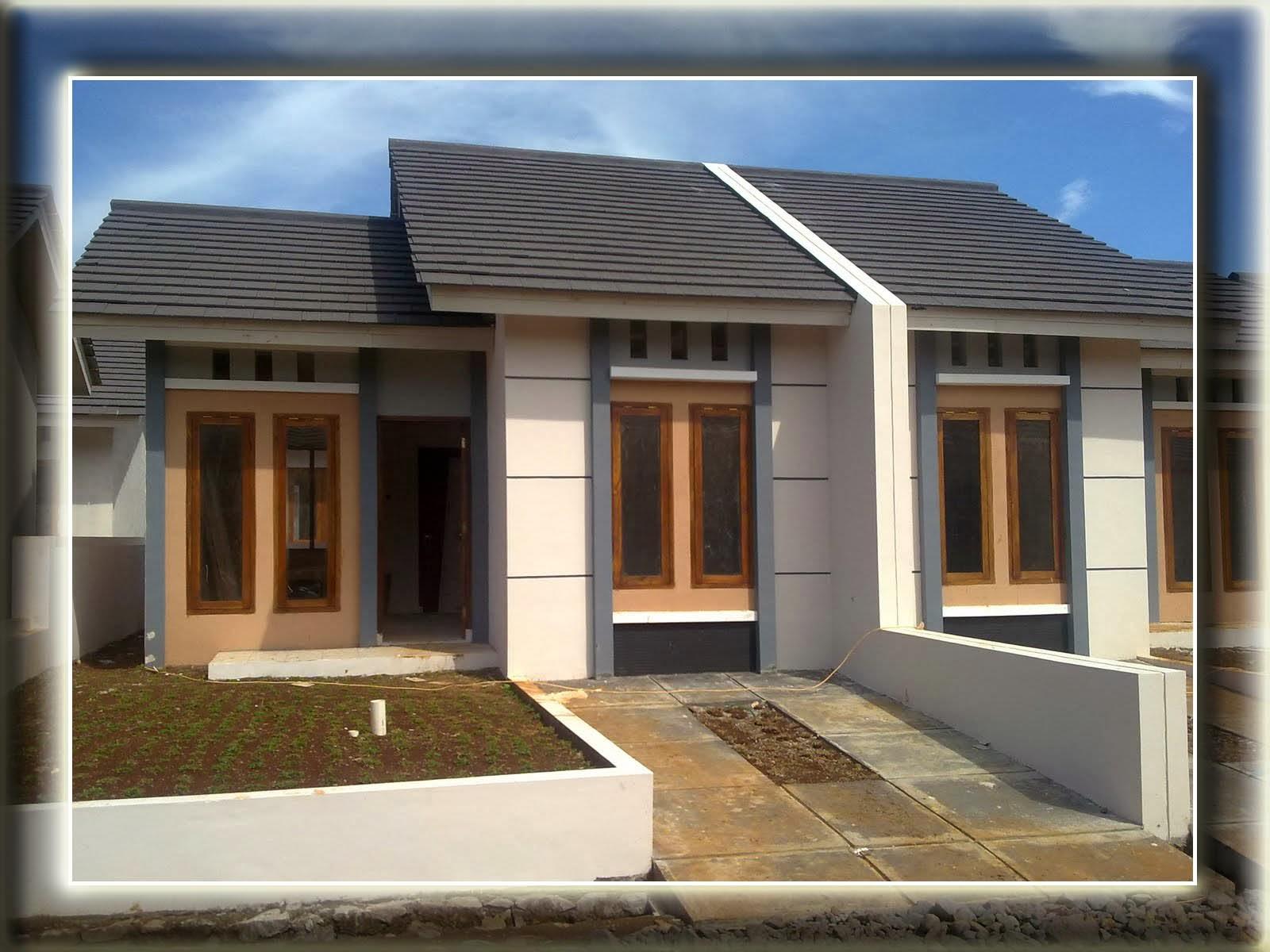 Desain Rumah Minimalis Modern Type 36 dan 1 Lantai