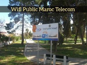 استفد من Wifi Public الخاص بالاتصالات المغرب