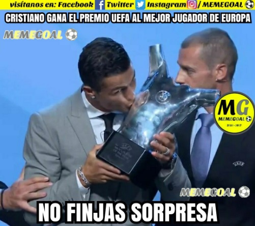 Funniest Memes Of All Time 2018 : Memes sorteo champions y uefa best player