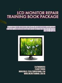 LCD Monitor Repair Training For Nigeria