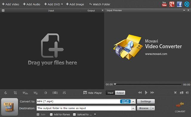 تحميل برنامج Movavi Video Converter لتحويل الفيديو والصوت والتعديل عليهم