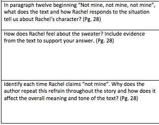 character analysis of rachel in eleven by sandra cisneros