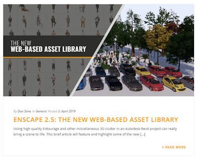 BIM Chapters: Enscape V2 5 plus Two New Enscape Blog Posts