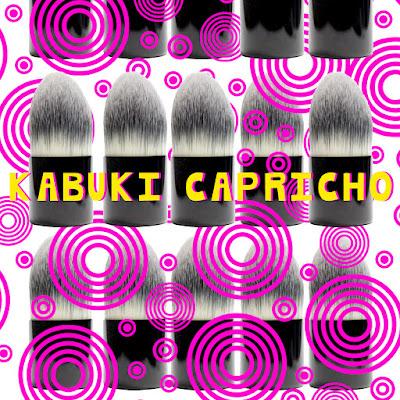 Brocha kabuki capricho de V+