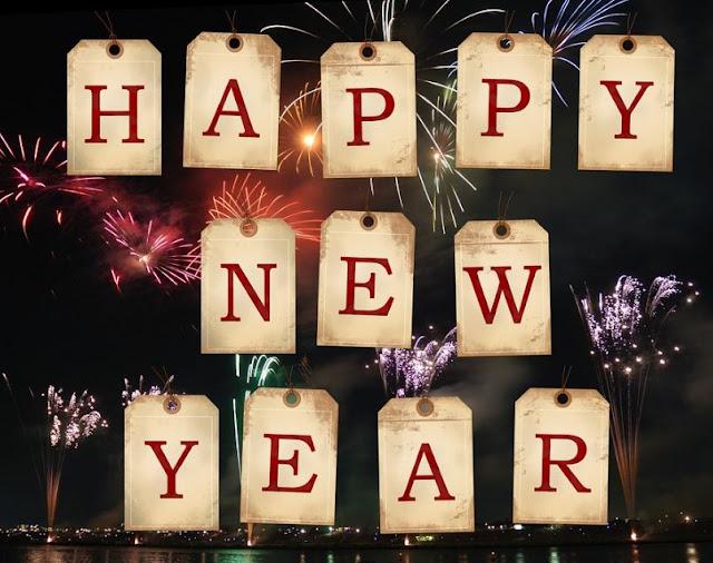 Kartu, Poster dan Templates Ucapan Tahun Baru