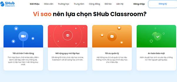 Tải SHub Classroom - Học trực tuyến trên điện thoại và máy tính a8