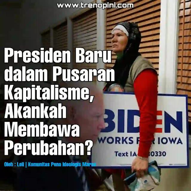 Joe Biden berhasil memenangkan pemilu presiden (pilpres) Amerika serikat 2020 . ia memperoleh suara sebanyak 290 electoral votes dan mengalahkan pesaingnya, Donald Trump. Dan ia resmi menjadi presiden yang ke-46 menggantikan Donald Trump. Joe Biden dan wakilnya Kamala Harris akan dilantik pada 20 Januari 2021.  Dalam pidatonya, Joe Biden mengatakan bahwa Jika nantinya menang dan resmi terpilih menjadi Presiden Amerika Serikat, Joe Biden berjanji kepada umat muslim akan memperlakukan agama Islam sebagaimana mestinya. Joe Biden mengungkapkan pernyataan itu, melalui cenel YouTubenya.