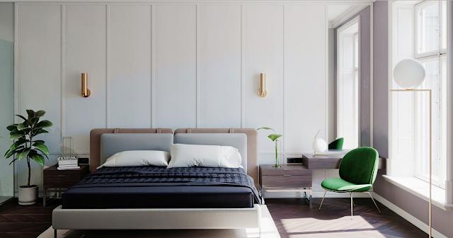 غرف النوم العصرية
