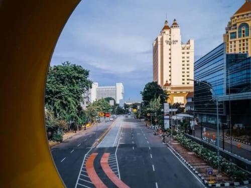 Wow, DKI Jakarta Dinobatkan Sebagai Kota Bebas Macet