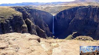 Lesotho les chutes Maletsunyane