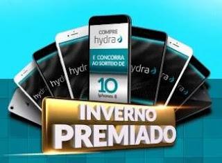 Promoção Sertão Comercial e Hydra Concorra 10 iPhones 8 - Inverno Premiado