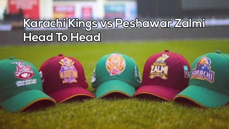 Karachi Kings vs Peshawar Zalmi: Head To Head