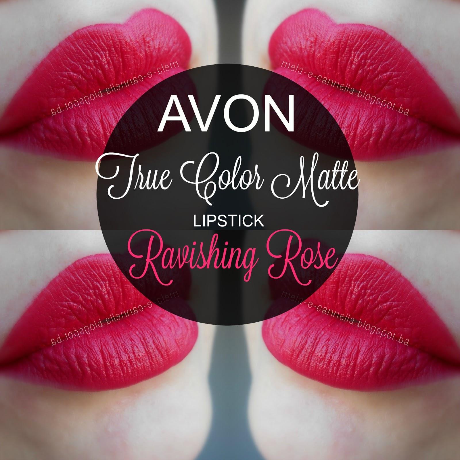 Mela E Cannella Avon True Color Matte Lipstick