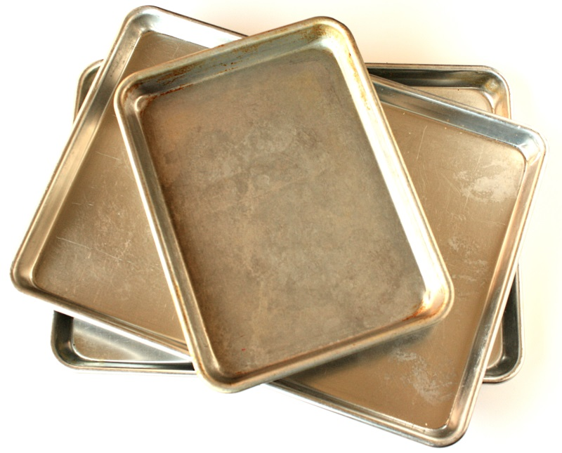 Baking sheets for sugar cookie decorating