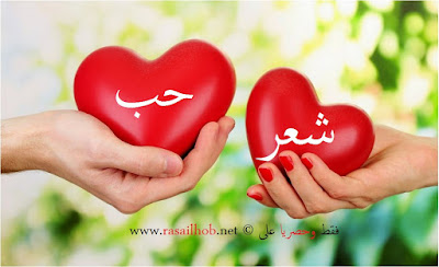 صورة معبرة عن الحب والغرام في الشعر الغزلي