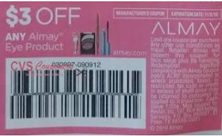 $3/1 Almay Eye Product Coupon