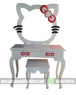 Meja Rias Anak Hello Kitty Lucu