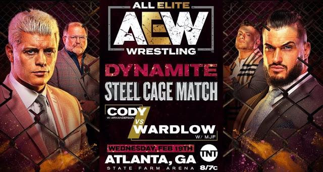 Imagem: Vaza a primeira Steel Cage da história da AEW