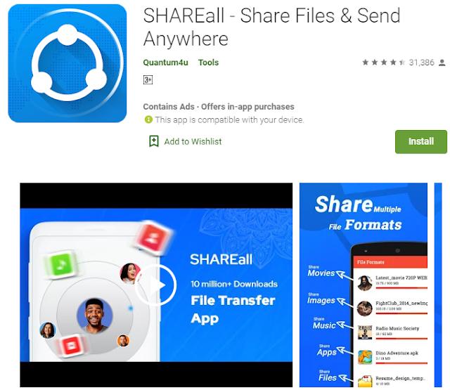 shareall app