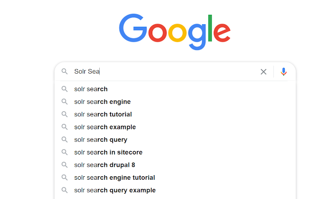 solr search suggester