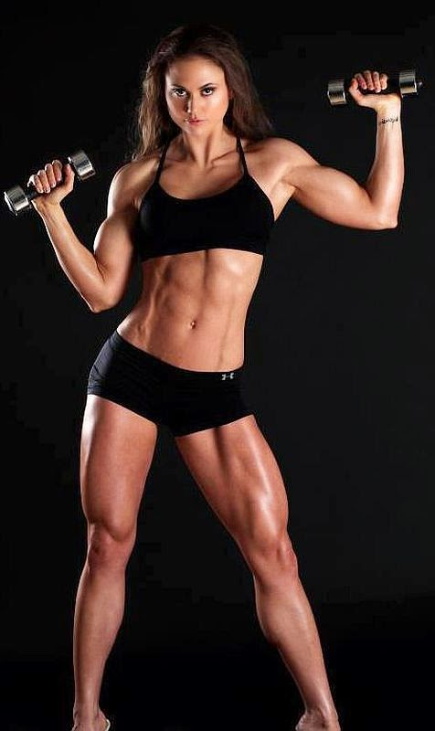 Tanya Etessam - female fitness