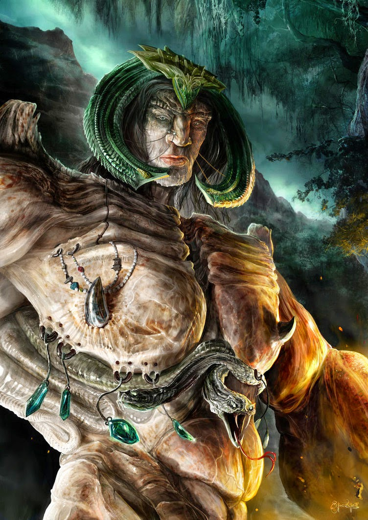 Man, Myth and Magic: Mythical Creatures: Biblical Giants