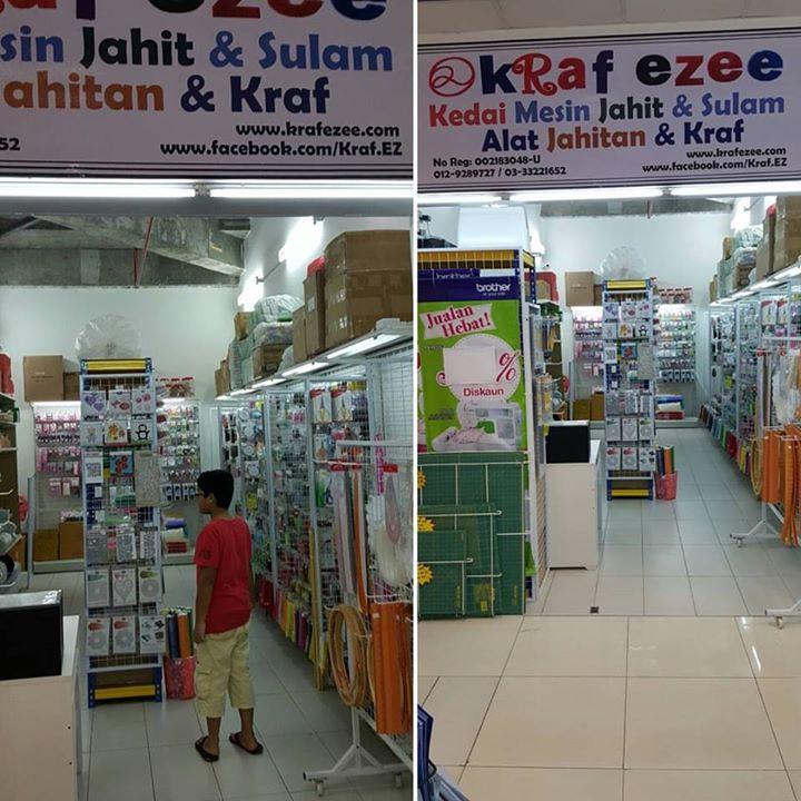 Kedai Mesin Jahit Alat Jahitan Kami Di Gm Klang