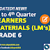 GRADE 6 LEARNER'S MATERIALS (LM's) Updated!!
