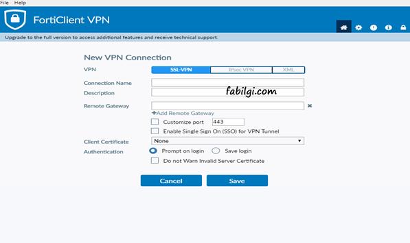 FortiClient VPN Nasıl Kullanılır? Uzak Masaüstü Bağlantısı Yapımı
