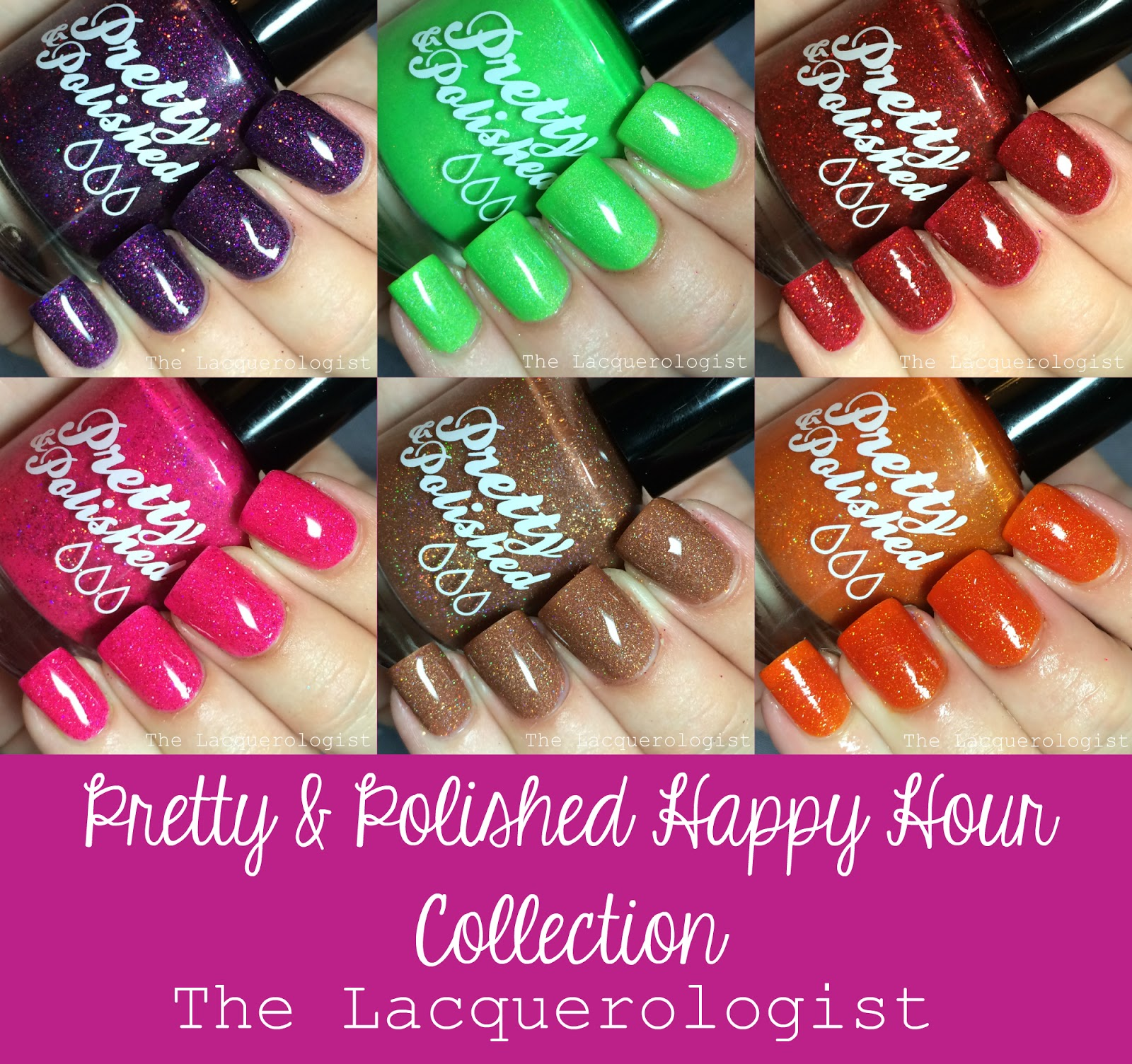 Pretty & Polished Happy Hour Collection: Swatches & Review! • Casual ...