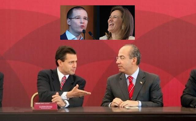 Calderón y Peña Nieto