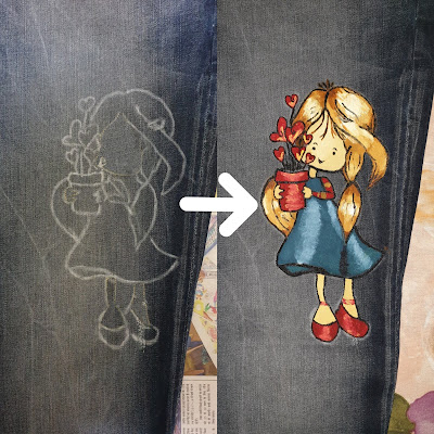 Simple Ideas To Make Best Fabric Painting On Jeans