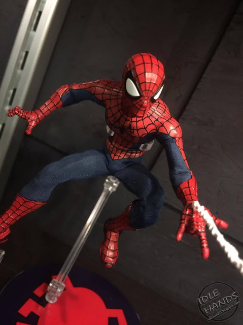 Toy Fair 2017 Mezco One:12 Collective Marvel Comics Spider-Man