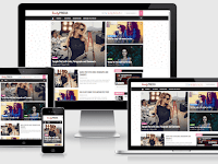 BeautyPress - Responsive Stylish Blogger Template