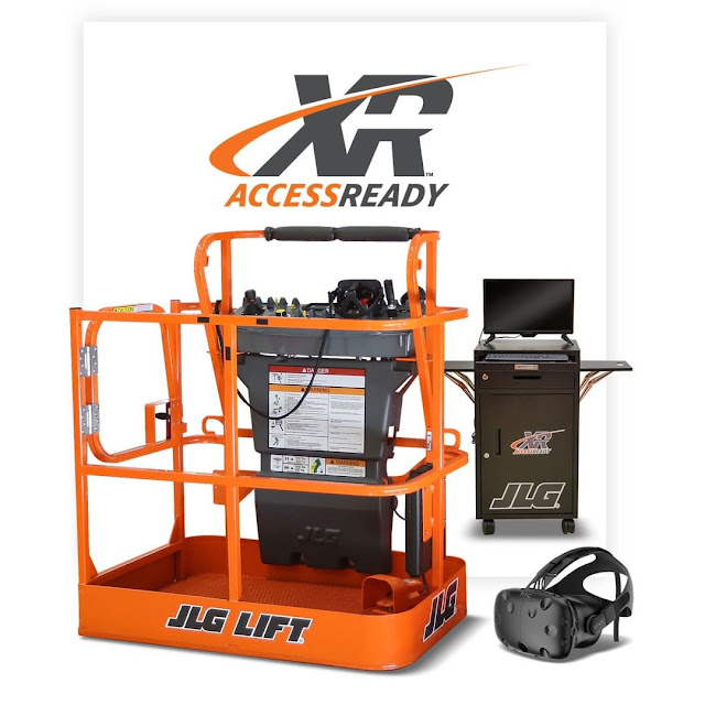 JLG Industries AccessReady XR™ Virtual Reality Training Simulator