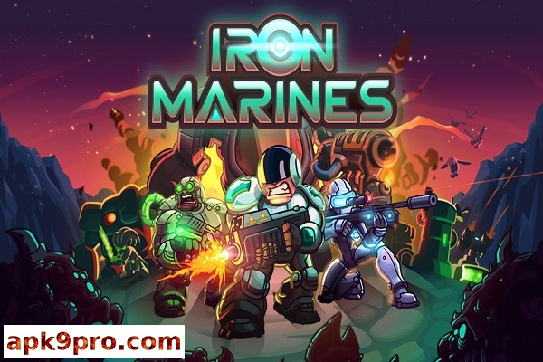 Iron Marines v1.5.12 Apk + Mod + Mega + Data (File size 567 MB) for android