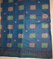 Kain Batik Prima 2040 Biru Toska