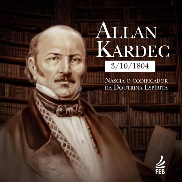 03/10/1804 - NASCIMENTO DE ALLAN KARDEC