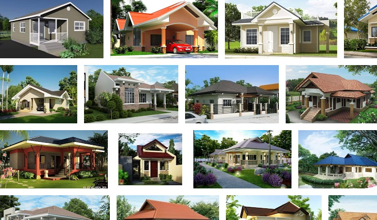 424 diseños de casas de una sola planta