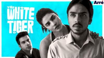 THE WHITE TIGER 2021 Hindi English Telugu Tamil 480p Movie